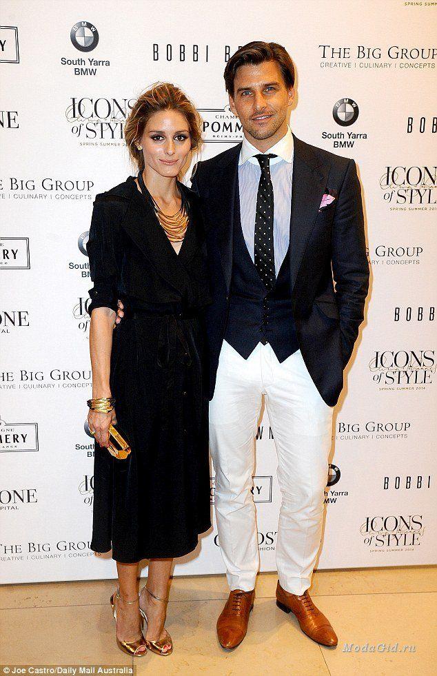 Знаменитости: Две половинки одного стиля: модные образы Оливии Палермо и Йоханнеса Хьюбла за 2014-2015 года