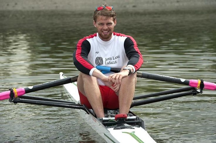 Alan Campbell took bronze for Team GB in the single sculls
