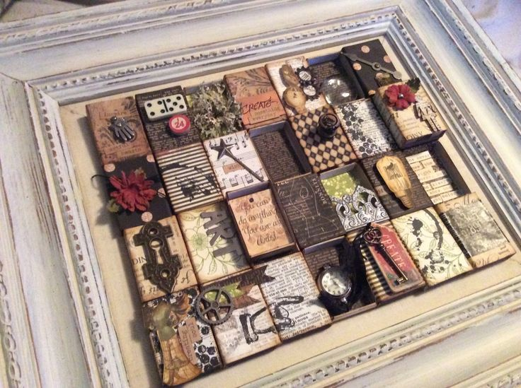 How to Create a Matchbox Collage