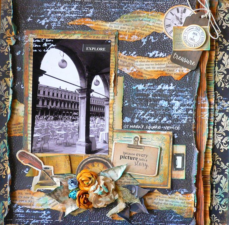 """Created for kaisercraft using """"StoryBook"""" paper collection. Adriana Bolzon http://abinspirations.blogspot.com/"""