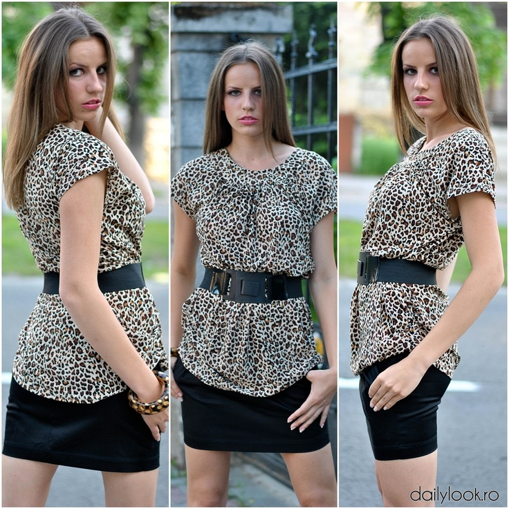"Tinuta ""Flirty Mini Skirt""  face parte din acele tinute care te evidentiaza in multime. Daca vrei haine pentru femei in care sa te simti speciala, viziteaza magazinul online dailylook.ro"