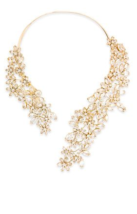 Stone Floral Necklace from BCBG (http://www.bcbg.com/Stone-Floral-Necklace/JDKJC789-124,default,pd.html?dwvar_JDKJC789-124_color=124=dresses-by-occasion-wedding-bridesmaid)