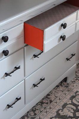 DIY dresser renovation