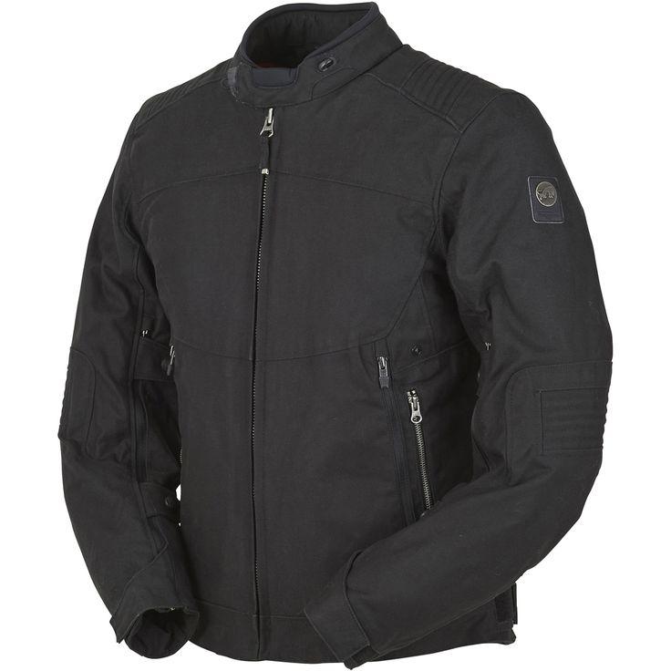 Découvrez notre Blouson Defender DH Noir pour la moto par Dafy-Moto, vente en ligne de Blouson :   Construction externe 100% coton doté d'une