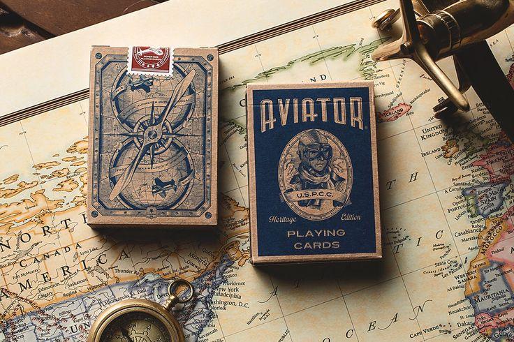 Playing Cards - AVIATOR® Heritage Ed.