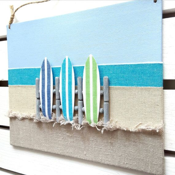 Beach Wall Decor best 25+ surfboard decor ideas on pinterest | surfboard art