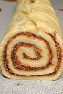 My mother used to make the most amazing cinnamon rolls.....I've never tried her recipe, but may have to after seeing this :)