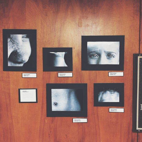Student Gallery Display // Advanced Photography Fall 2013