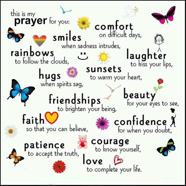 My prayer for you. mwordsandthechristianwoman.com