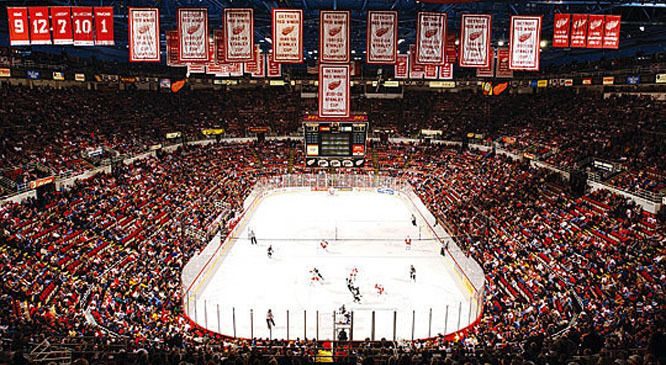 Joe Louis Arena | Joe Louis Arena History and Facts - Detroit Red Wings - Tickets