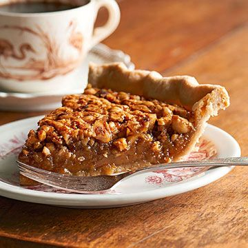 Redemption Hazelnut Pie - This uber-sweet pie is essentially a traditional pecan pie made with hazelnuts. This recipe comes from Patty Pinner's cookbook Sweety Pies (tauntonstore.com).