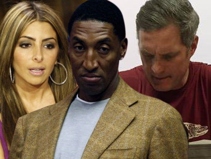Scottie Pippen's Wife -- Christian Laettner Stiffed Us Bad ... 'How Do You Sleep At Night?'