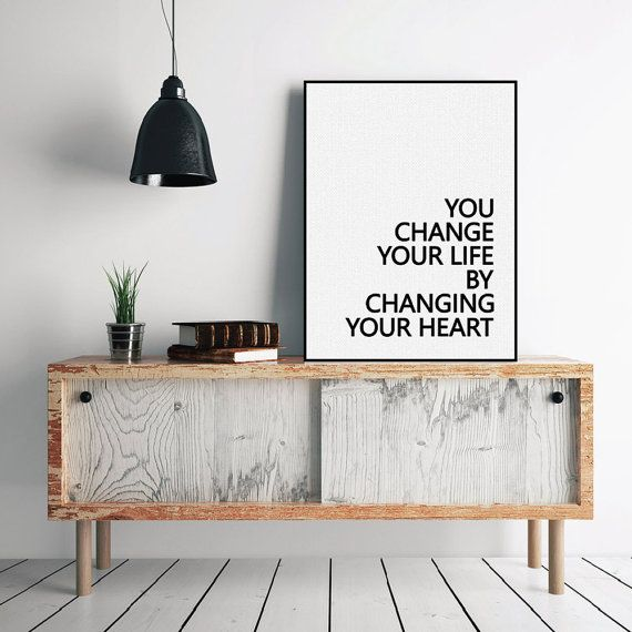 Freeshipping Nordic Black White Motivational Typography Life Quotes A4 Art Print Poster Minimalist Wall Art Canvas Painting Living Room Deco by PicSaying