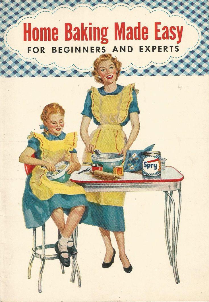 home baking vintage cookbook
