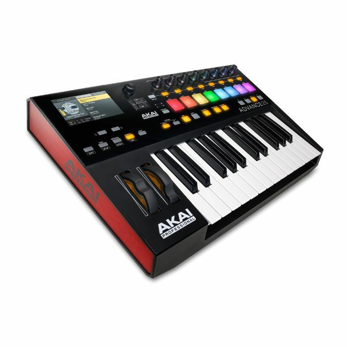 AKAI Akai Advance 25 MIDI Keyboard Controller With Bundled Software Package vinyl at Juno Records