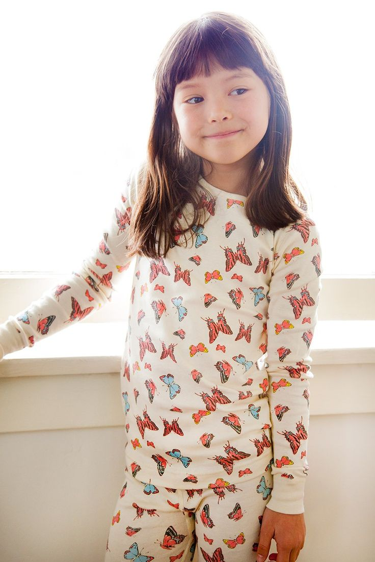 Butterfly Long Sleeve Pajamas