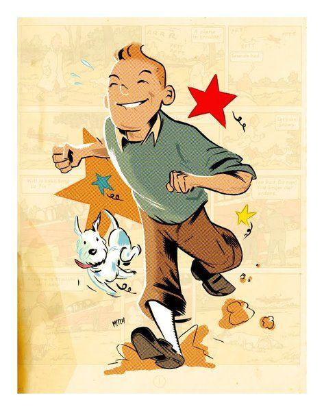 Ok, le Tintin de Spielberg n'est apparemment pas exactement fidèle à l'oeuvre d'Hergé, mais tant que c'est bon, nous, on en redemande. Comme avec ces fanart qui nous régalent toujours autant (cf les f