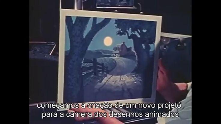 Walt Disney's MultiPlane Camera (Filmed Feb 13, 1957)[Legendado]