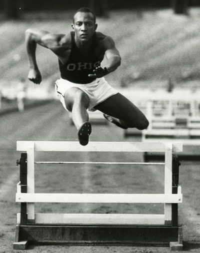 Jesse Owens - Showed Hitler and gang a thing or two at the Berlin Olympic Games when he won four gold medals and befriended a white German athlete in the process.