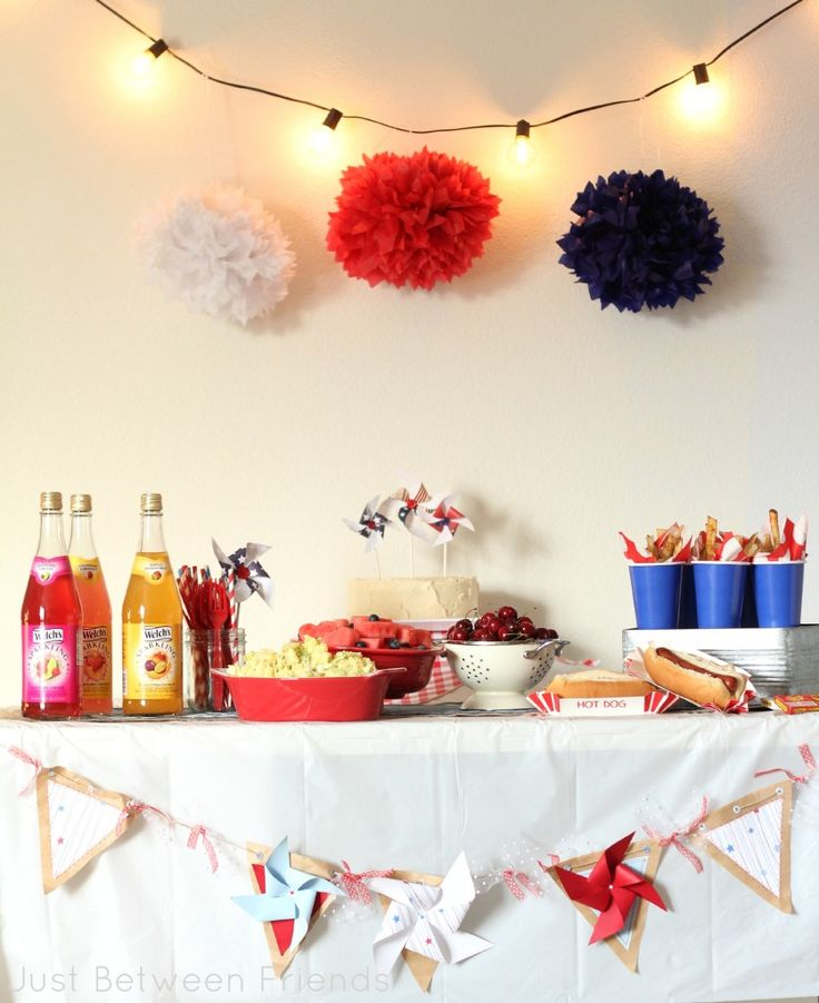 Just Between Friends: Easy Summer Party Food