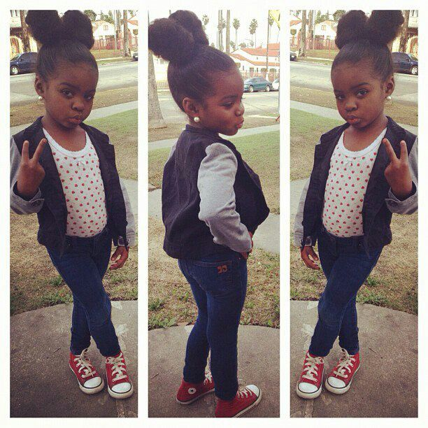 little girl swag