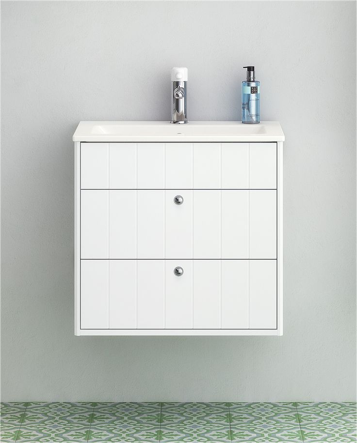 Tvättställ för bänkskiva från vår badrumsserie Graphic.