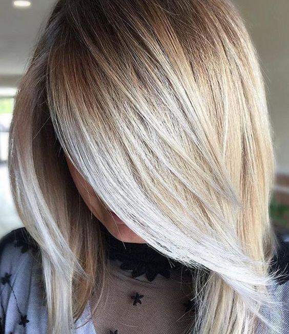 Best 25+ Medium Length Blonde Ideas On Pinterest
