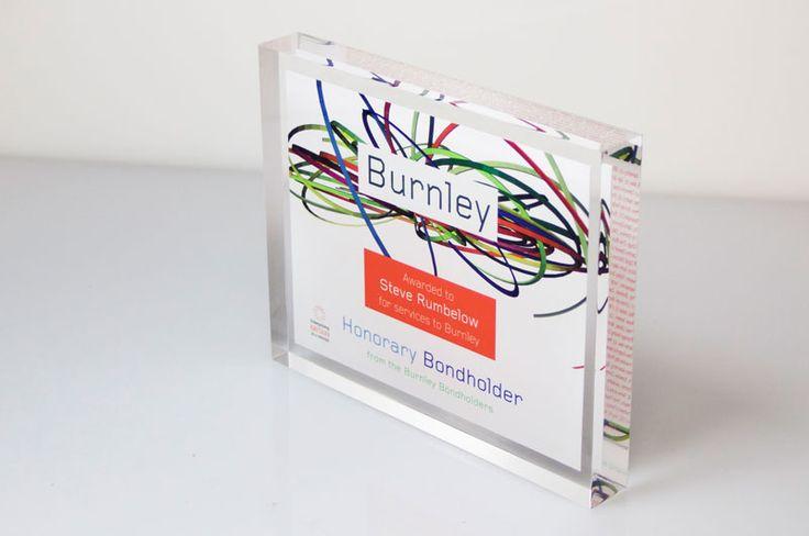 Burnley Recognition Award