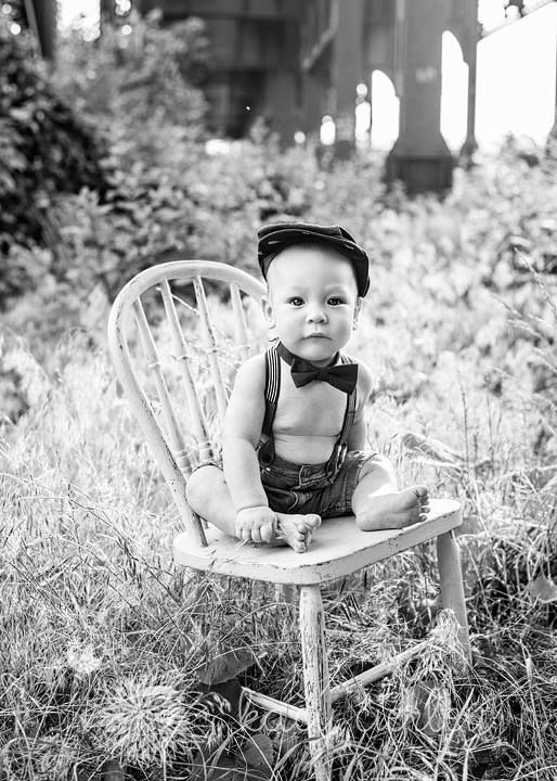 Oliver's 6 month baby picture