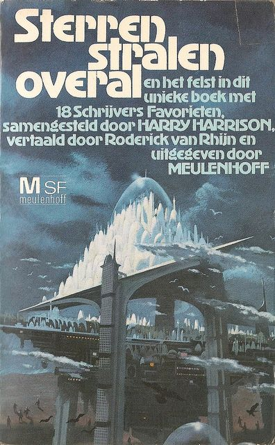 Flyer Goodness: Dutch Sci Fi Book Covers