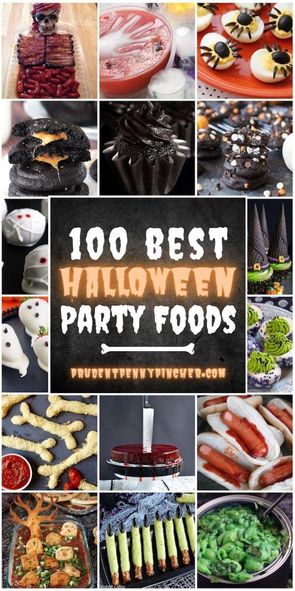 Halloween Dinner Ideas 2020 100 Best Halloween Party Foods in 2020 | Halloween party dinner