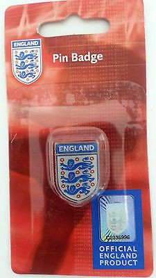 #Official england football pin #badge - three lions - #world cup - 18,000+ f/back,  View more on the LINK: http://www.zeppy.io/product/gb/2/381561420624/