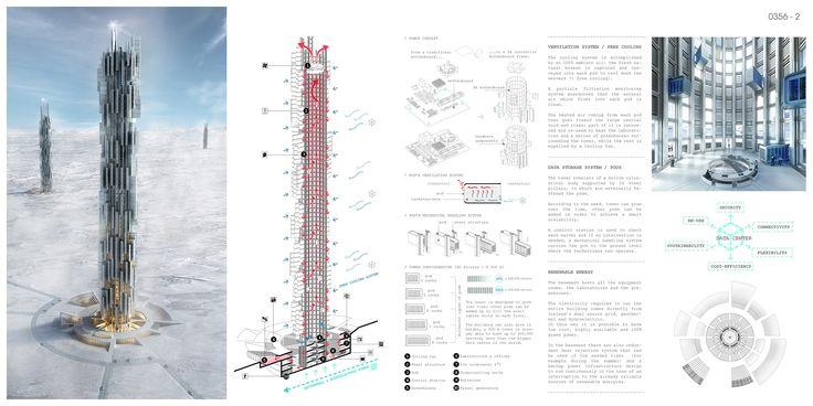 Data Skyscraper: Sustainable Data Center In Iceland- eVolo | Architecture Magazine