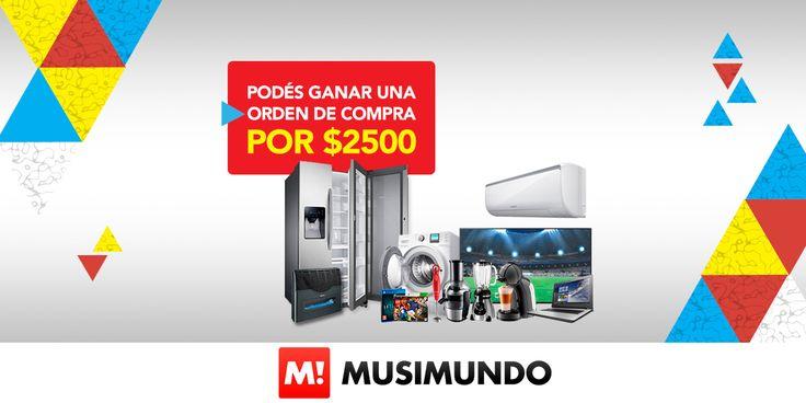 Musimundo.com - Podés Ganar una orden de Compra por $2500!