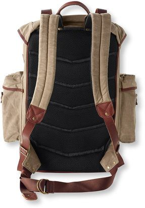 441936a192a7f6 ShopStyle: L.L. Bean Heritage Waxed Canvas Continental Rucksack ...
