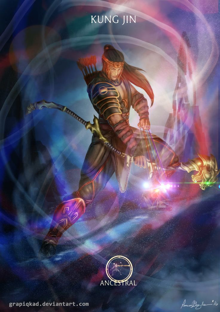 Mortal Kombat X-Kung Jin Ancestral Variation by Grapiqkad.deviantart.com on @DeviantArt