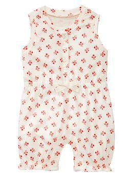 Floral one-piece