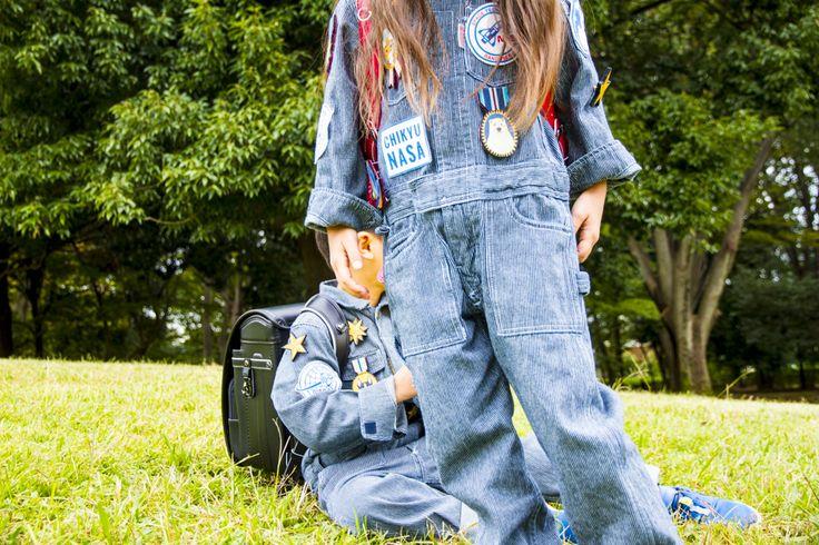 a branding Image for Chiky Nasa Randoseru.  #design #photo #kids #children #branding #masatoshioka playground