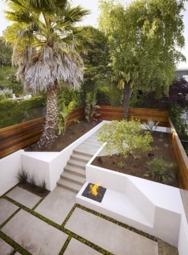 raisedManiscalco Architecture, Hills Street, Gardens Design Ideas, Street Resident, Landscapes Design, Outdoor Spaces, John Maniscalco, San Francisco, Fire Pit
