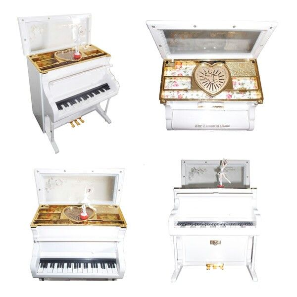 Kotak musik piano organ