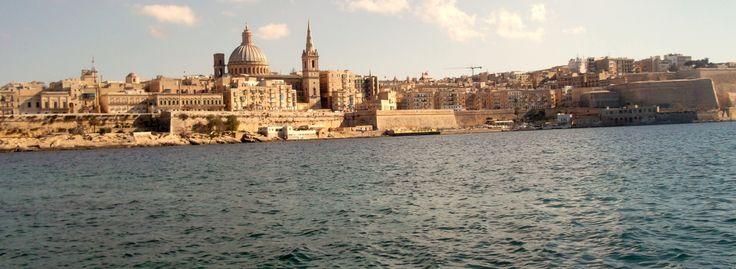 Valletta, as seen from Sliema