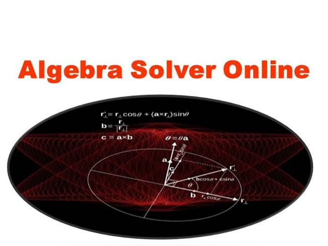 Check out my #Presentation on #Algebra Solver Online