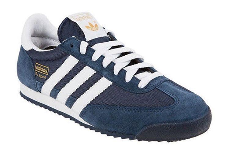 Adidas Originals Dragon Mens Casual / Athletic Shoes Sz US 10.5 / EUR 44.5 Navy
