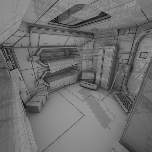 Spaceship Interior style. Simply inspirational by ConfidentLiving