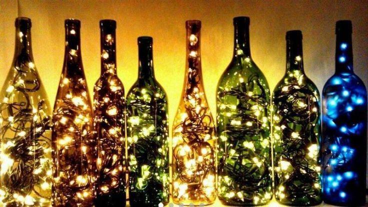 13 #Ideas para reutilizar viejas #botellas de #vino