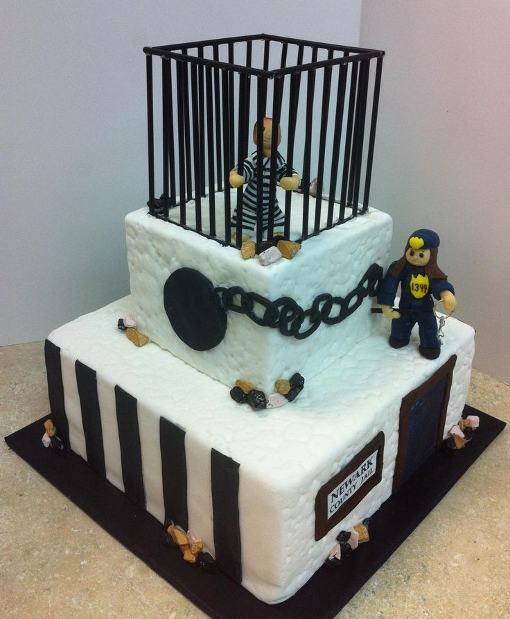 Cute Police - Law Enforcement Cake & Cookie Ideas