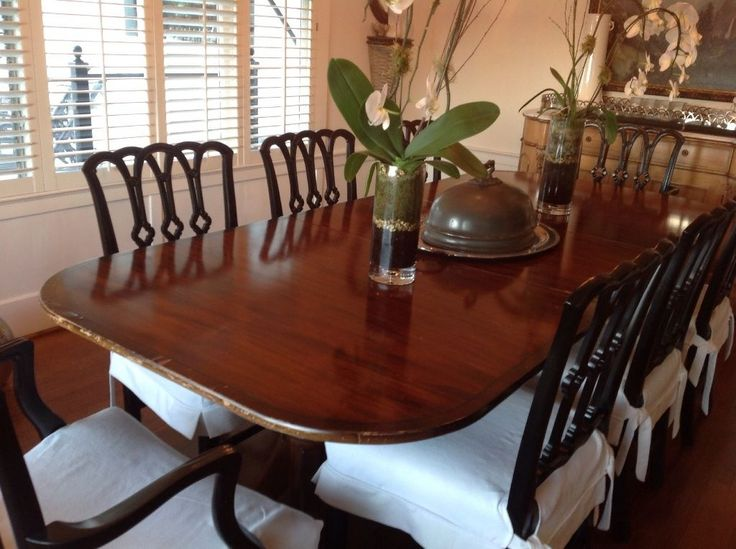 1930s Duncan Phyfe Dining Room Set With 8 Chairs