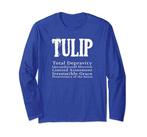 TULIP Calvinism Reformed Christian Long Sleeve T-shirt