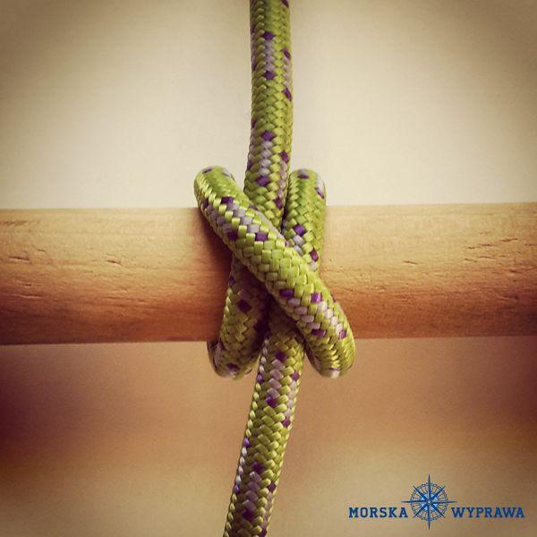 węzły żeglarskie - wyblinka - służy do mocowania na innej linie lub relingach. Najczęściej wykorzystywana do wiązania odbijaczy natomiast przy sztywnych, śliskich linach może się rozplątać