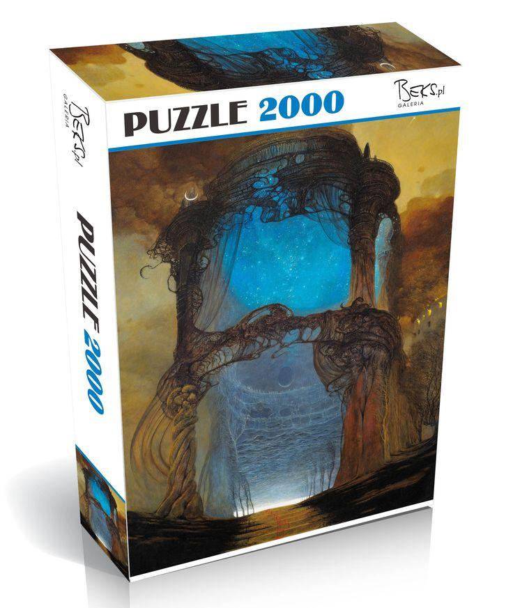 Puzzle 2000 elementów Zdzisław Beksiński AE78